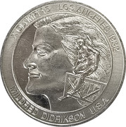 Token - Great Olympic Moments (Mildred Didrikson) – avers