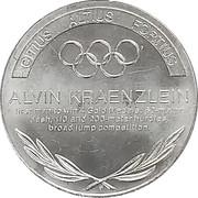 Token - Great Olympic Moments (Alvin Kraenzlein) – revers