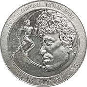 Token - Great Olympic Moments (Wilma Rudolph) – avers