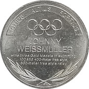 Token - Great Olympic Moments (Johnny Weissmuller) – revers