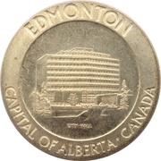Jeton - Edmonton (Home of the Commonwealth Games) – revers
