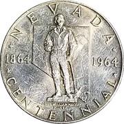 Token - Nevada Centennial (John William Mackay) – avers