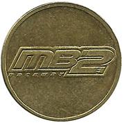 Jeton de jeu - MB2 Raceway – avers