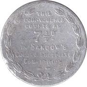 7 ½ Pence- Eugen Sandow – revers