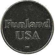 Jeton de jeu - Funland USA – avers