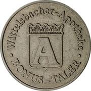 Bonus-Taler - Wittelsbacher Apotheke (Aichach) – avers
