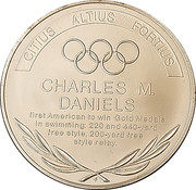 Token - Great Olympic Moments (Charles Daniels) – revers