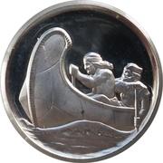 Medal - Northwest Territories Centennial – revers