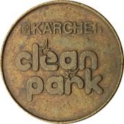 Jeton de lavage automobile - Kärcher Clean Park (SB Wash Autoservice Kügel) – revers