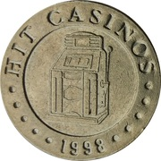 Jeton de casino - Hit Casinos (Nova Gorica) – revers