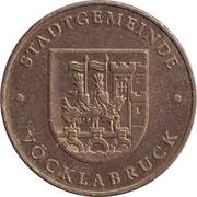 Jeton de stationnement - Stadtgemeinde Vöcklabruck – avers