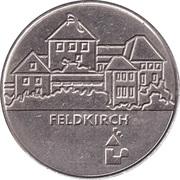 Jeton de stationnement - Feldkirch – revers