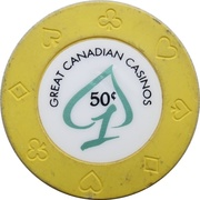 50 Cents - Great Canadian Casinos (Vancouver, British Columbia) – avers