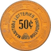 50 Cents - Manitoba Lotteries Foundation – avers