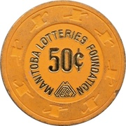 50 Cents - Manitoba Lotteries Foundation – revers