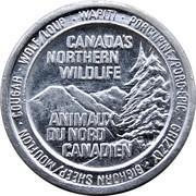 Token - Canada's Northern Wildlife (Deer) – avers