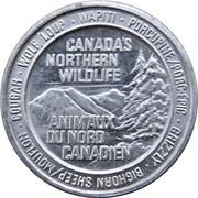 Token - Canada's Northern Wildlife (Porcupine) – avers