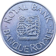 Token - J. D. Ferguson Collection / Royal Bank – avers