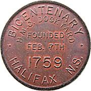 Medal - Bicentenary HMC Dockyard Halifax – avers