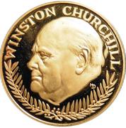 Jeton - Winston Churchill – avers