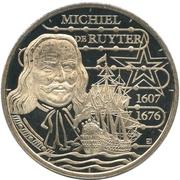 Token - De Canon van Nederland (Michiel de Ruyter) – avers
