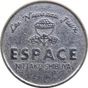 Token - Espace Nittaku Shibuya – revers