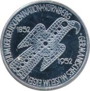 5 Deutsche Mark (Germanic Museum) – revers