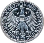 5 Deutsche Mark (Joseph von Eichendorff) – avers