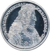 5 Deutsche Mark (Markgraf von Baden) – revers