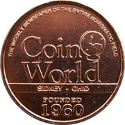 Token - Joys of Collecting (Coin World) – revers