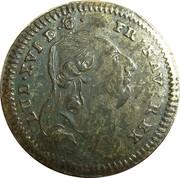 Louis XVI Iohann Christian Reich – avers