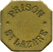 25 Centimes Prison Saint-Lazare - Paris [75] – avers