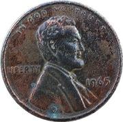 Token - Giant Florida Lincoln Memorial Cent – avers