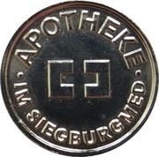 Bonustaler - Apotheke im Siegburgmed (Siegburg) – avers
