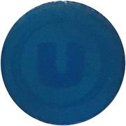 Jeton de chariot translucide bleu U – revers