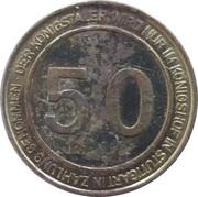50 Taler - Königshof (Stuttgart) – revers