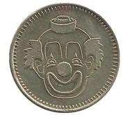 Token - No Cash Value (Clown; 23 mm) – avers
