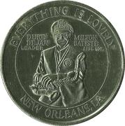 Duke Dejan (La Nouvelle-Orléans, Louisiane) – avers