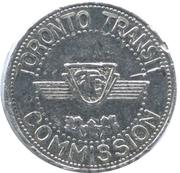 Metro Token - Toronto Transit Commission – revers