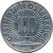 100 Schilling - Casinos in Österreich (1978 FIFA World Cup) – revers