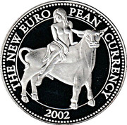 Token - The New European Currency 2002 (Cyprus) – avers