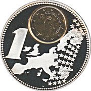 Token - The New European Currency 2002 (Cyprus) – revers