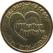 Bonus Taler - Millrather Apotheke (Erkrath) – avers