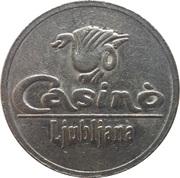 Token - Casino Ljubljana (Ljubljana) – avers