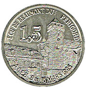 1,5 écu 1995 Beaumont du Périgord – avers