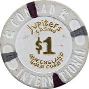 1 Dollar - Jupiters Casino (Gold Coat, Queensland) – revers