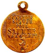 Medallion - Castle Silver Foil -  avers