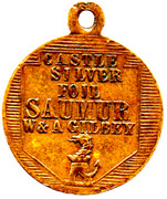 Medallion - Castle Silver Foil -  revers