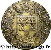 Georges Catinat - Maire de Tours - Noblesse et Villes – revers