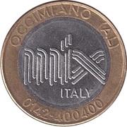 Jeton de lavage automobile - Mix Italy (Self Service mod.A) – avers